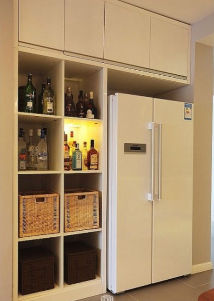 冰箱做玄关效果图大全