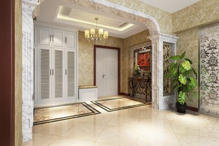 两室两厅入户门正对阳台求大神改户型图片