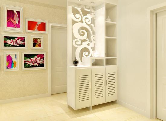走廊窄鞋柜设计