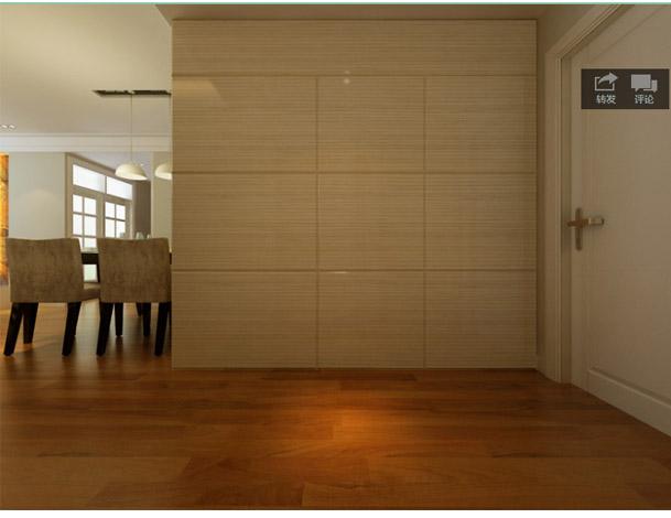 客厅电视墙加隐形衣柜