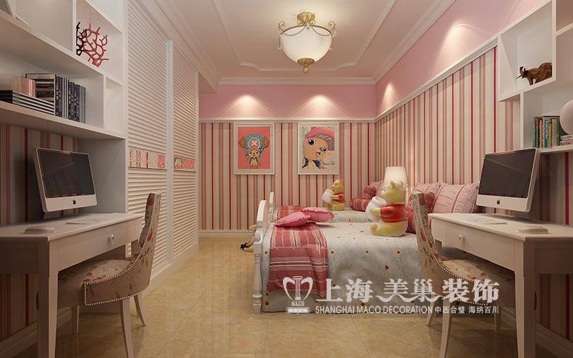 星城国际120平简欧风格三室两厅装修效果图