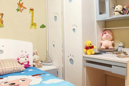 欧式儿童卧室装修效果图