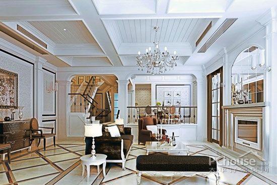 挑高客厅装修效果图大全