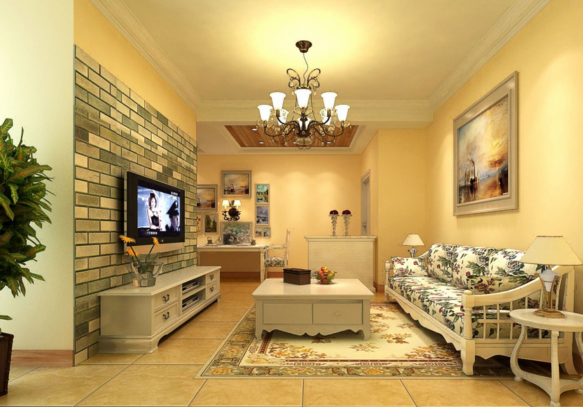 中式电视背景墙设计效果图大全
