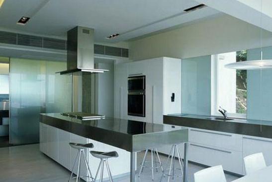 小户型厨房吧台之开放式设计