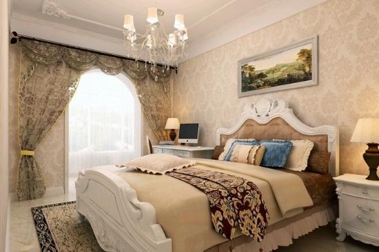简约欧式风格 卧室吊顶装修真时尚
