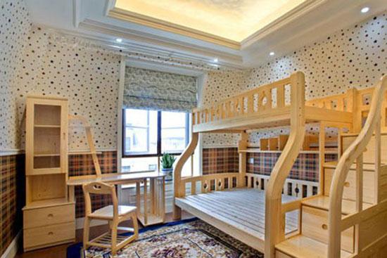 创意儿童房吊顶设计图赏图片