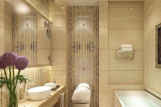 欧式风格卫生间装修效果图大全2014图片