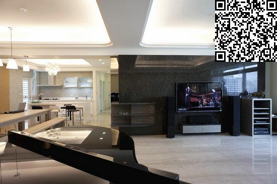 复式楼装修效果图 120平美式休闲家图片