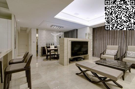 欧式客厅装修效果图     设计重点:沙发背景墙     编辑点评:因