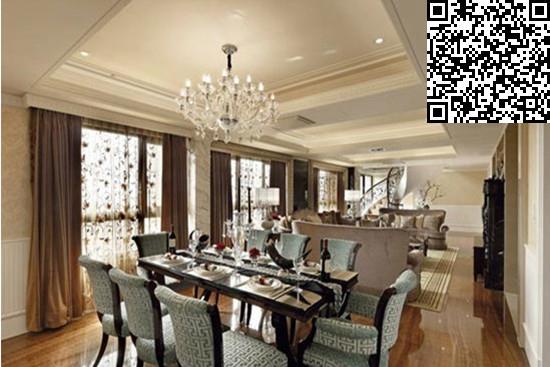 欧式风格餐厅装修效果图大全2014图片