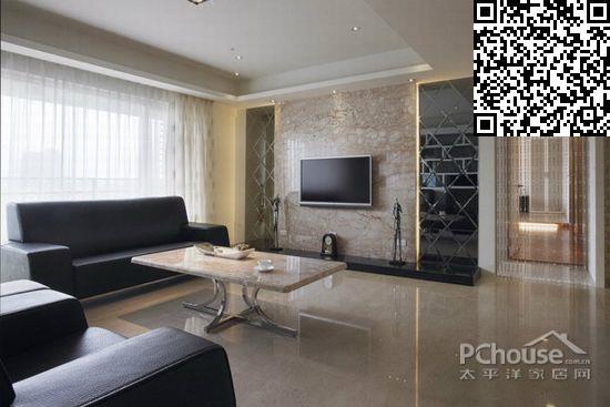 客厅瓷砖装修效果图大全2014图片
