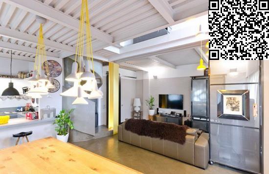 大户型装修效果图 loft的时尚交换空间