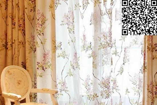 卧室窗帘装修效果图大全2014图片