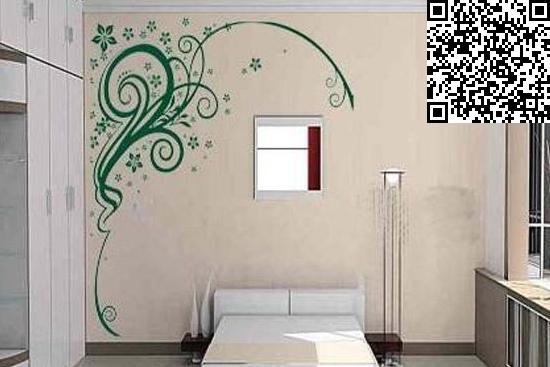 手绘背景墙效果图大全     在装修卧室设计的构思中也有不会考