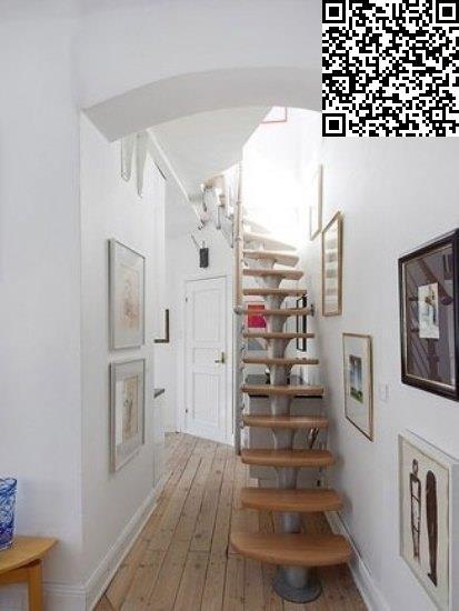 阁楼设计 98平简约炫彩小复式