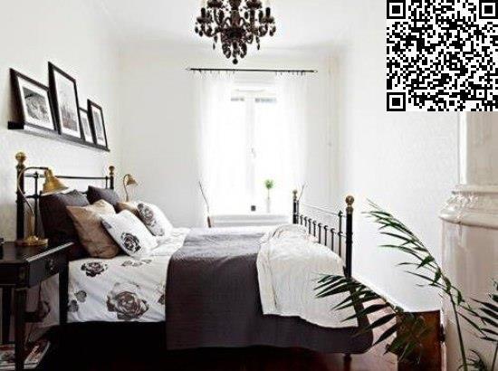 70平米装修 黑白简约欧式风格公寓