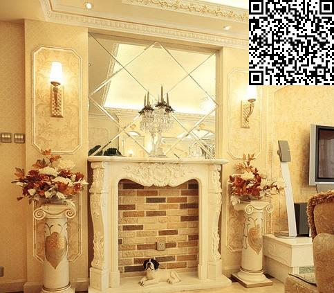 三居室装修效果图 130平欧式奢华风