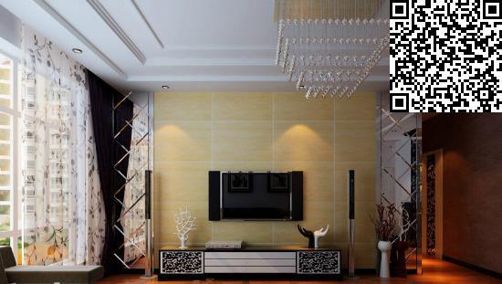 空间层次多线条 客厅欧式吊顶设计