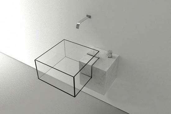 创意洗手盆设计 让卫生间充满情趣