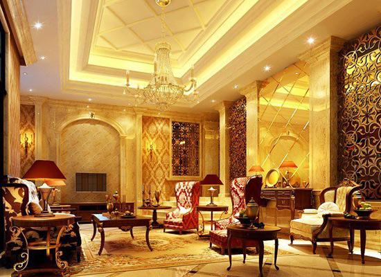 欧式风格:欧式古典玄关,总是在豪华中兼有典雅,同时隐藏着霸气.