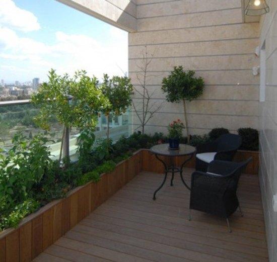 乡村田园风格 花园阳台设计图片