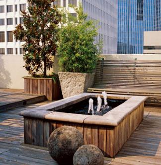 简约欧式风格 设计炎夏清凉庭院