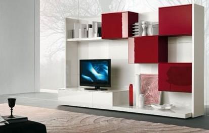 客厅装修 国外电视背景墙设计