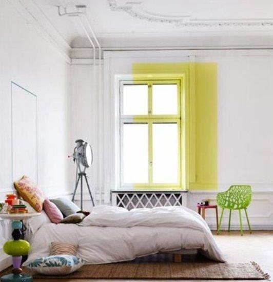 简约欧式风格 客厅加卧室小空间搭配