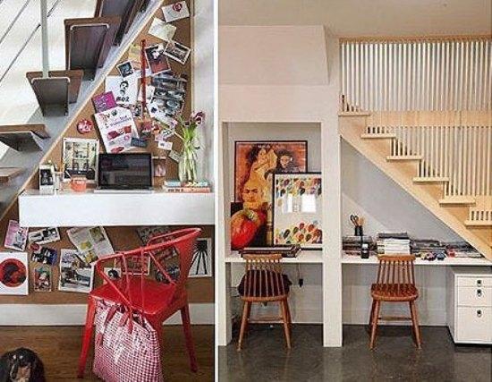 楼梯间书房设计 10个挖掘空间潜能