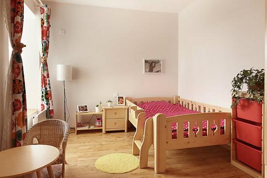 溪畔丽景欧式风格儿童房装修效果图