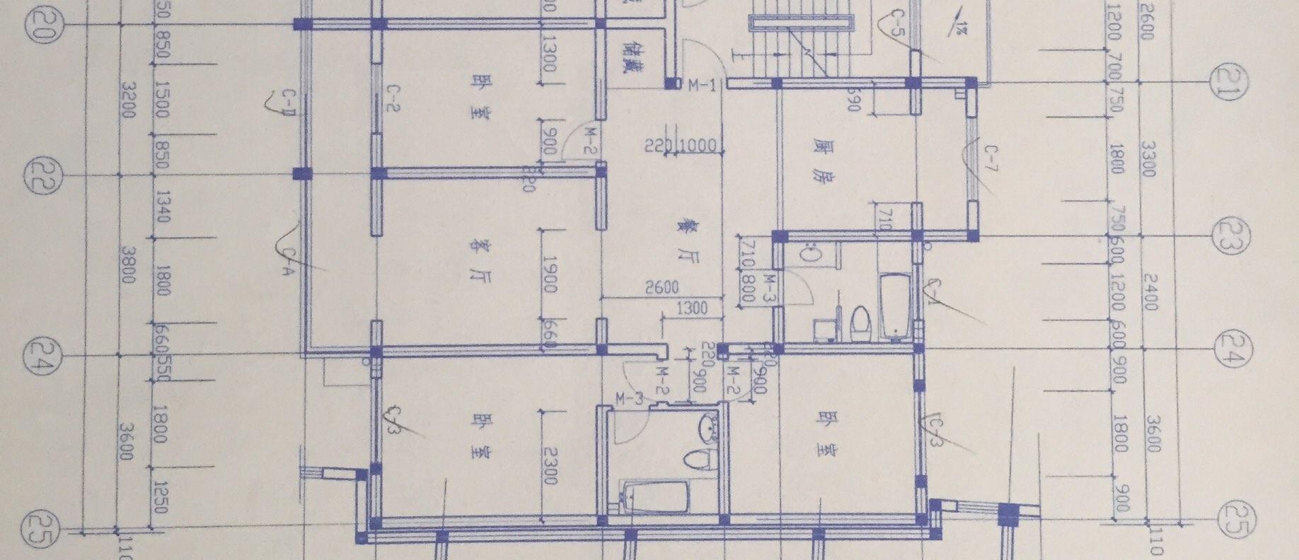 房间电路施工图