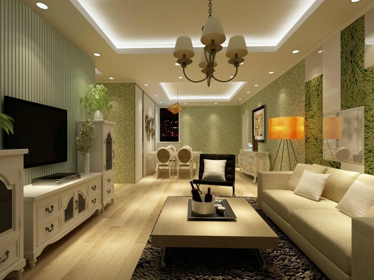 本案设计以简洁色彩搭配体现夏日的a色彩.室内设计绘图员图片