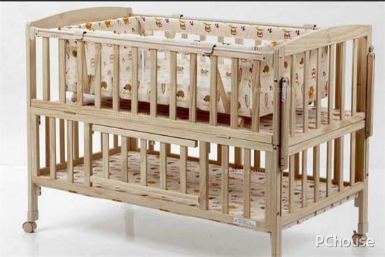 婴儿床安装图及步骤说明