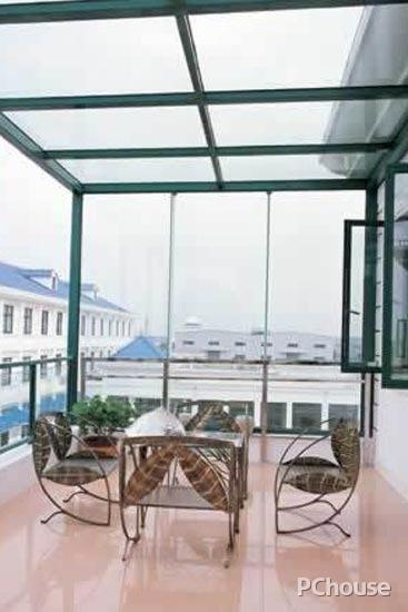 阳台窗户装修效果图如何设计
