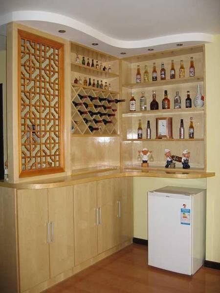 酒柜装修效果图 提升家居品味