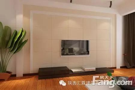2016石膏板电视背景墙装修效果图
