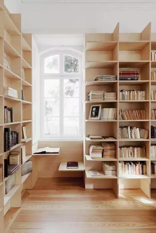 最具创意卧室书架效果图大全图片