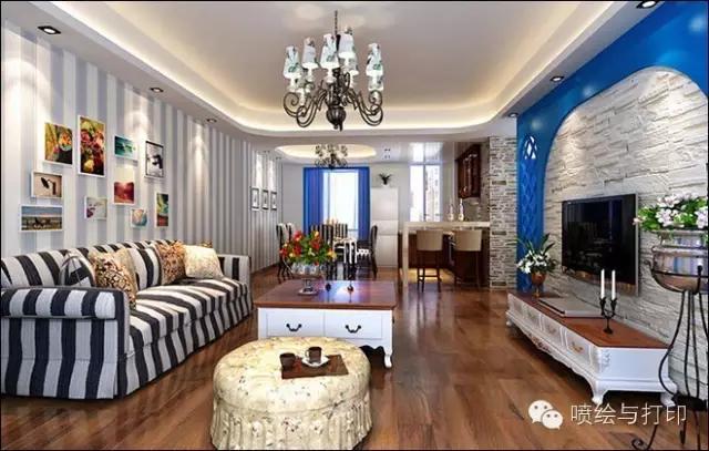 木纹地板砖室内装修效果图欣赏