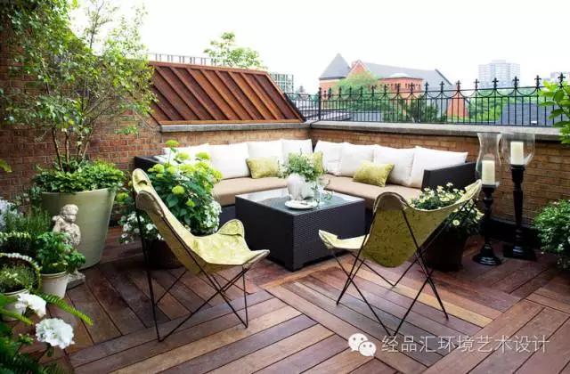 露天阳台装修效果图怎么设计