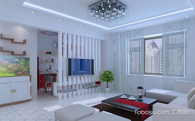 家居屏风隔断装修效果图与作用