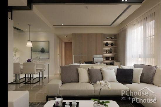 吊顶造型装修效果图 美化您的客厅