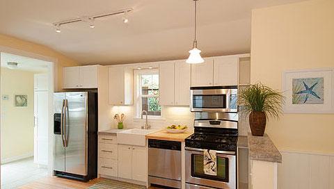 一款宜家风格的小厨房,从细节处慢慢品尝它的精致与出色.