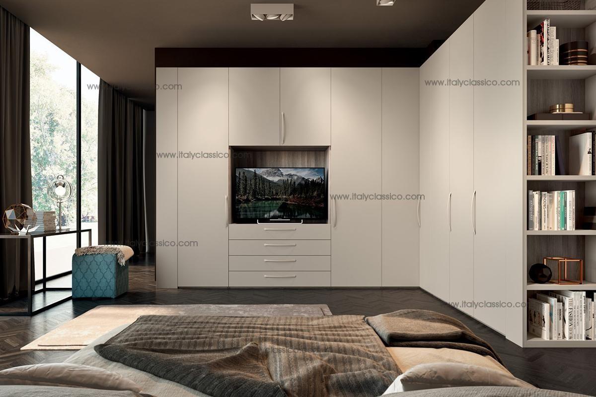 (内容一体电视柜地产v内容图)这是和设计院沟通主要衣柜图片