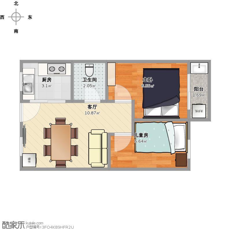 38平米的公租房户型图大全,装修户型图,户型图分析,图图片