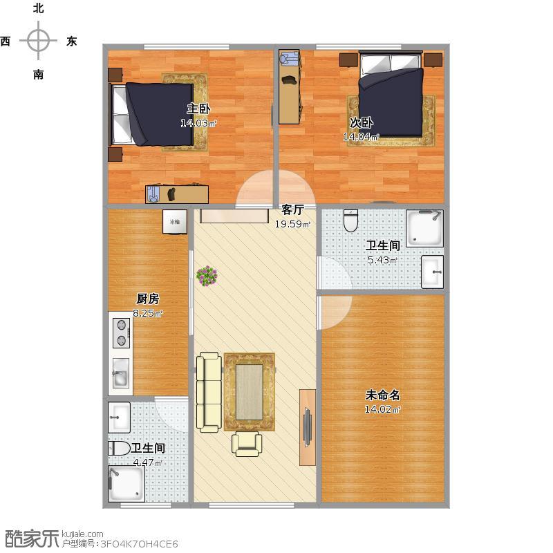 自建房90平米设计图