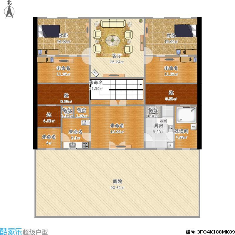 越层四室一厅户型图大全,装修户型图,户型图分析,户型