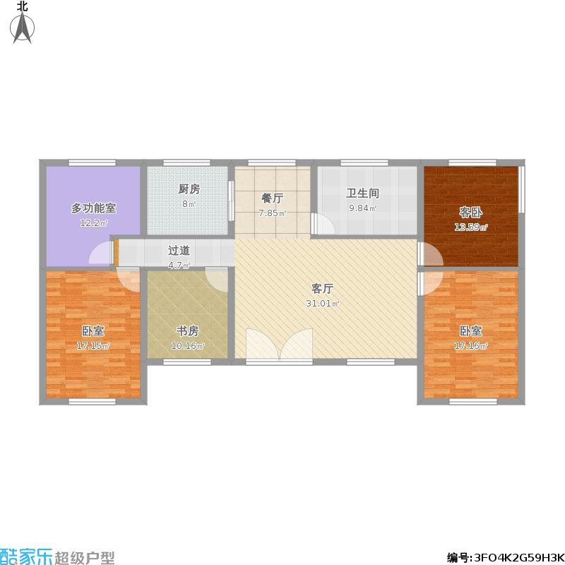12米x12米平房设计图