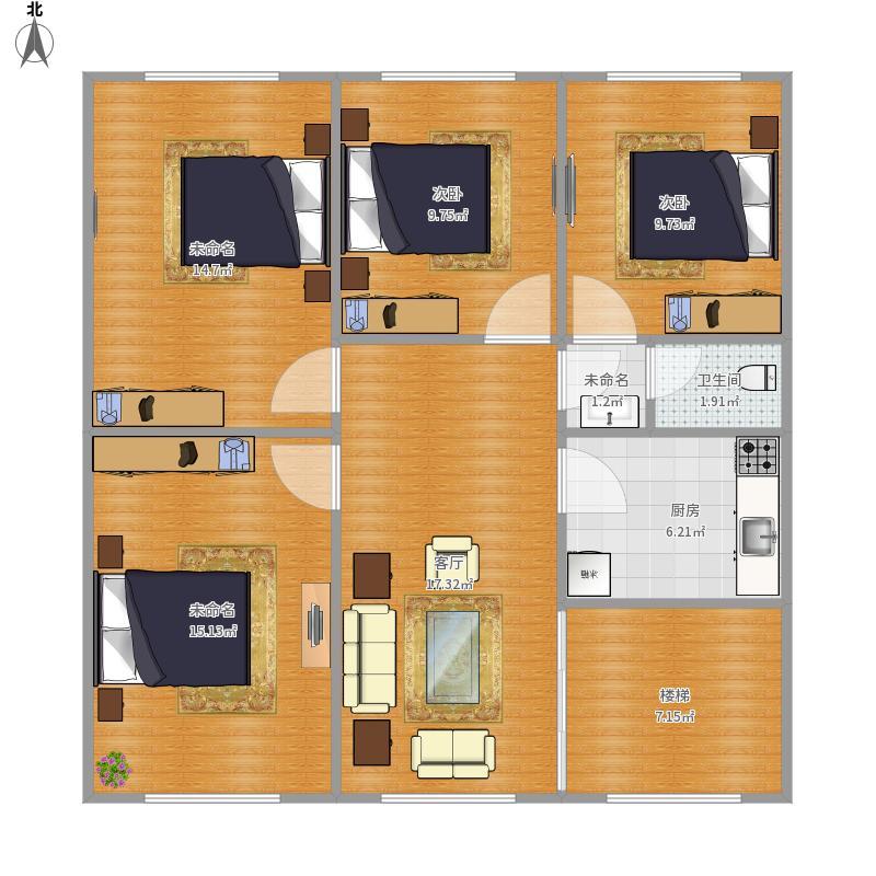 四室一厅户型图大全,装修户型图,户型图分析,户型图