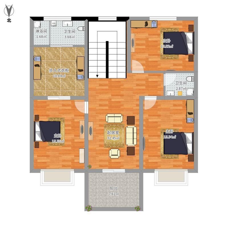 农村房屋户型图二型2层户型图大全,装修户型图,户型图